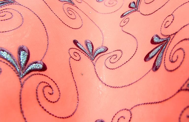 A bond between two giants: Getzner Brocade & HeDee Embroidery